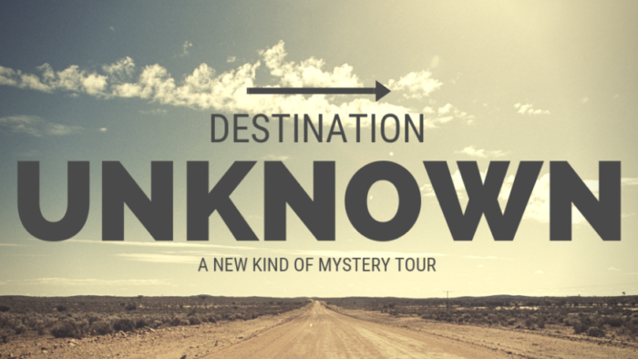 Destination Unknown – New Plymouth Departure Only